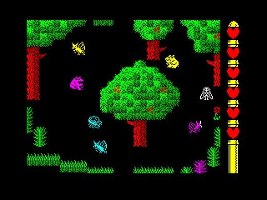 Sorceress 2: The Mystic Forest, nová hra pro ZX Spectrum