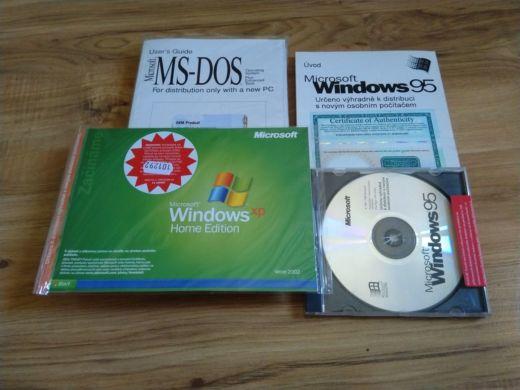 Instalačky MS-DOSu – BONUS do soutěže