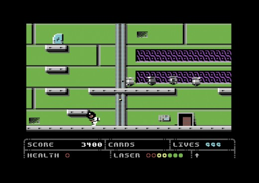 Space Trip 2086, nová hra pro Commodore 64