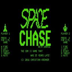 Space Chase, střílečka pro Commodore CBM-II