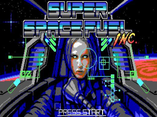 Super Space Fuel Inc., nová hra pro DOS