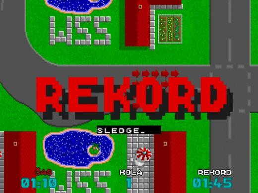 Výzva: Turbo Speedway