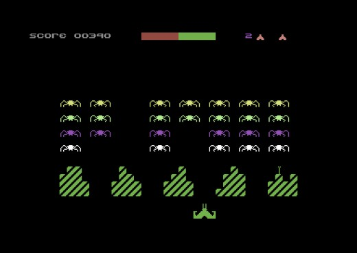 Spyders, nový Space Invaders klon pro Commodore 64