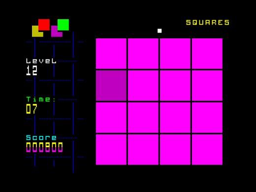 Squares, novinka pro ZX Spectrum
