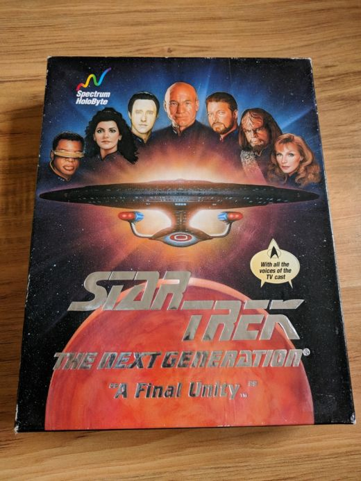 Krabice: Star Trek The Next Generation – A Final Unity