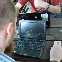 Starcraft a komorní LAN u piva (v nádražce! :)