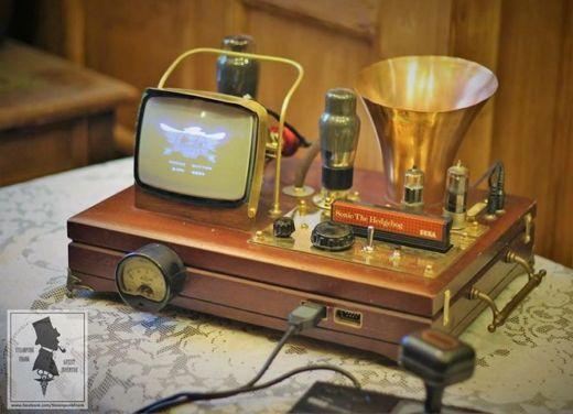 Steampunkový Master System