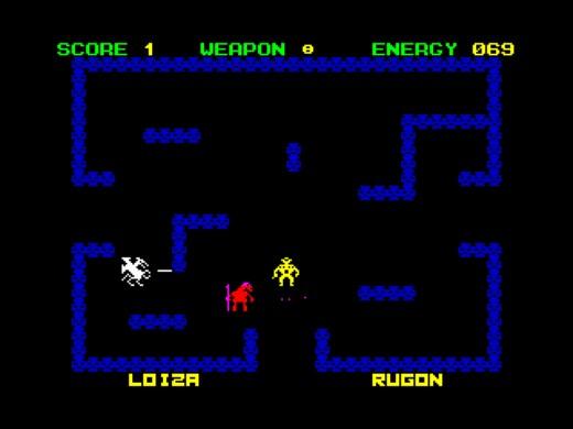 Steel Jeeg, akční novinka pro ZX Spectrum