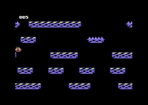 Straight Up, akce až pro 4 hráče (Commodore 64)