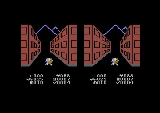 Virtuální realita přichází! Street Defender pro C64