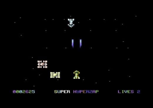 Super Hyperzap, nová střílečka pro C64