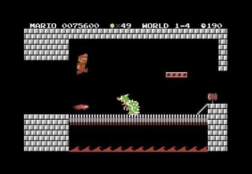 Super Mario Bros. pro Commodore 64