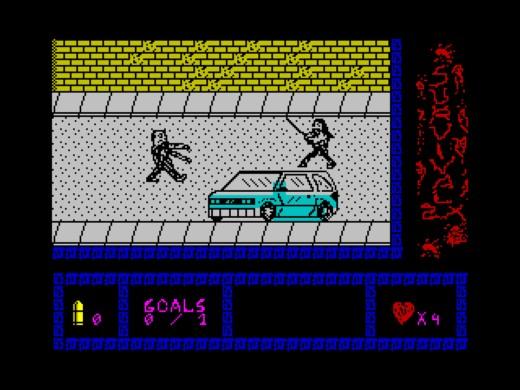 Survival ZX, nová beat'em'up pro ZX Spectrum