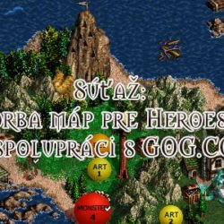 Soutěž: tvorba map pro Heroes of Might & Magic 3