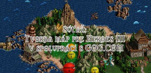 Soutěž: tvorba map pro Heroes of Might & Magic 3