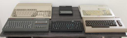 TauonPC-1, all-in-one počítač v klávesnici