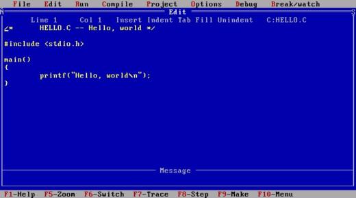 Základy tvorby her v DOSu