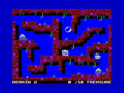 That Sinking Feeling, hlubinná akce pro ZX Spectrum