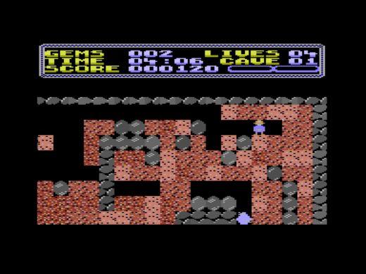 """The Pit, nový """"Boulder Dash"""" pro Commodore Plus/4"""