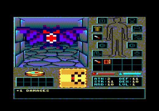 The Shadows Of Sergoth, epický dungeon pro Amstrad CPC