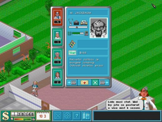 """""""Terminal patients to the front of the queue!"""" – Theme Hospital"""