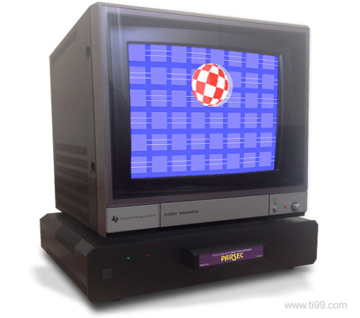 TI(ny)-99/4A, replika Texas Instruments TI-99/4A