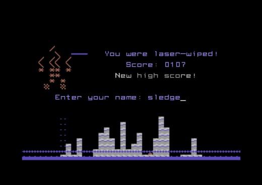 Tower of Rubble 64, novinka pro Commodore 64
