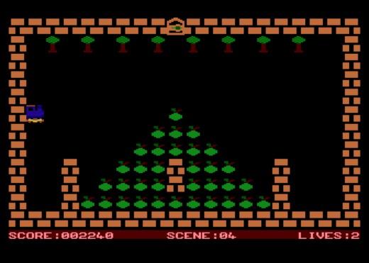TRAIN, klasický VLAK pro osmibitová Atari