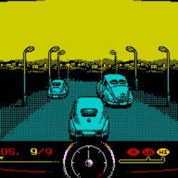Travel Through Time, závodní novinka pro ZX Spectrum