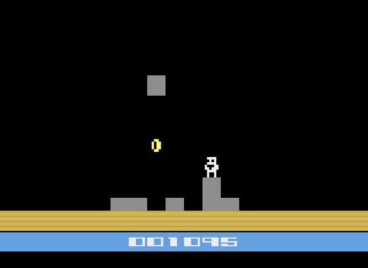 Tumble Temple, novinka pro Atari 2600