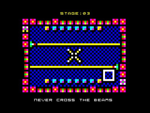 Twinlight, světelná hlavolamka pro ZX Spectrum