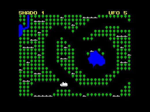 UFO, novinka pro ZX Spectrum inspirovaná dávným seriálem