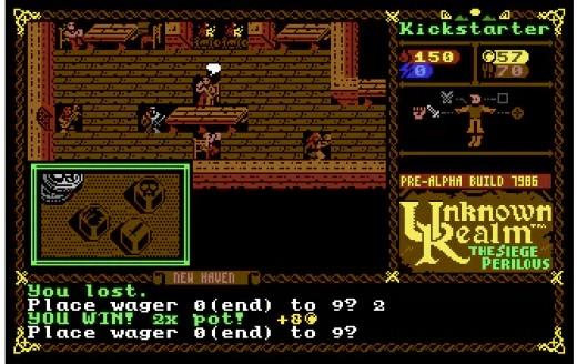 Unknown Realm, nové RPG pro Commodore 64
