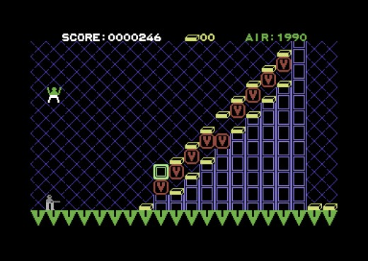 Vault Man 2, logická novinka pro Commodore 64