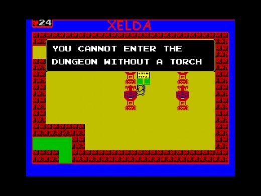 Xelda: Quest for the Golden Apple (ZX Spectrum)