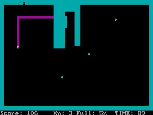 Xonix, kuličky a čtverečky z PC pravěku