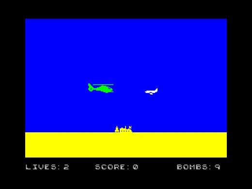 A Yankee in Iraq, novinka pro ZX Spectrum