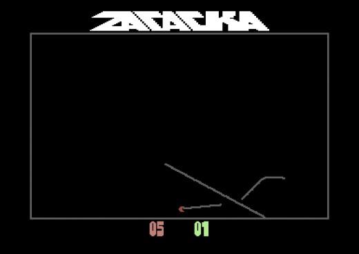 Zatacka, předělávka klasiky pro Commodore 64