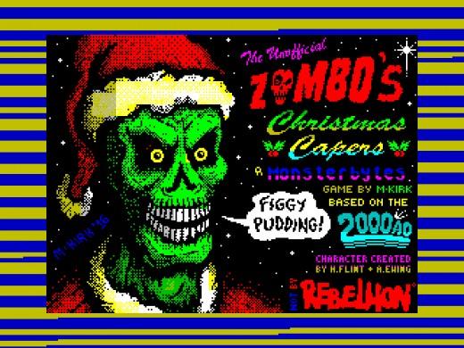 Zombo's Christmas Capers, vánoční novinka pro ZX Spectrum