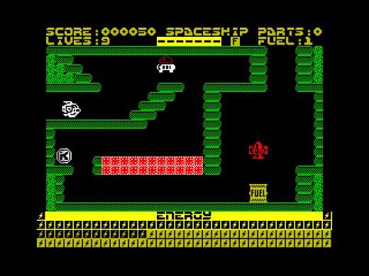 Zukinox, nová hra pro ZX Spectrum