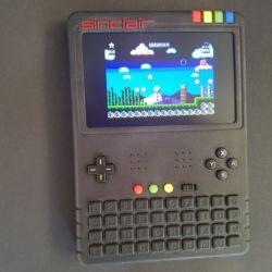 ZX Spectrum Next: laptop a handheld
